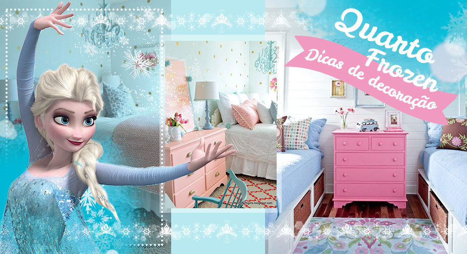 Quarto Frozen - dicas para decorar