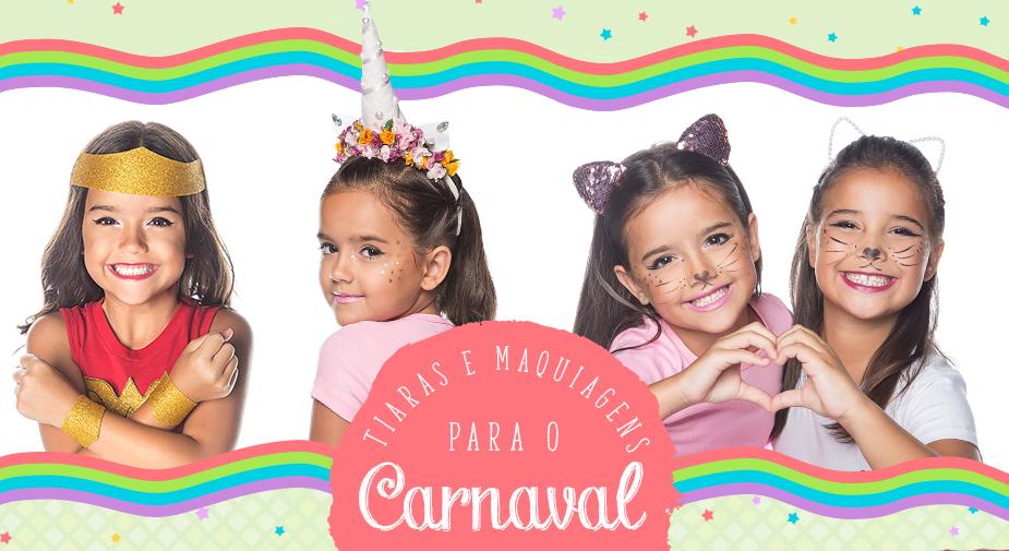 Aprenda a fazer maquiagens e tiaras customizadas para esse Carnaval