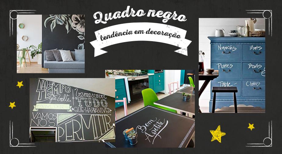 Quadro negro é tendência em decoração: veja como e onde aplicar em sua casa