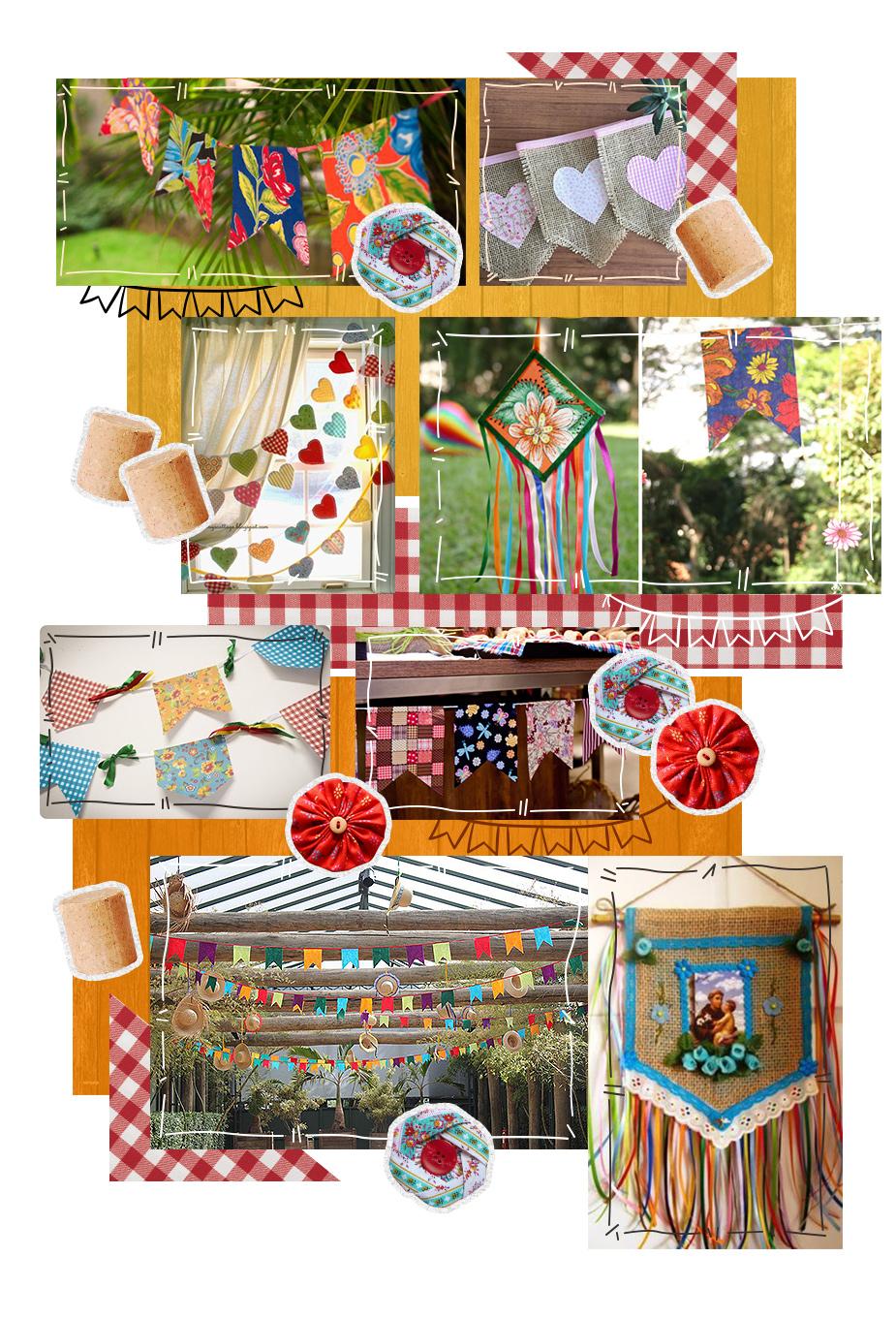 mosaico-diy-festa-junina-bandeirinhas