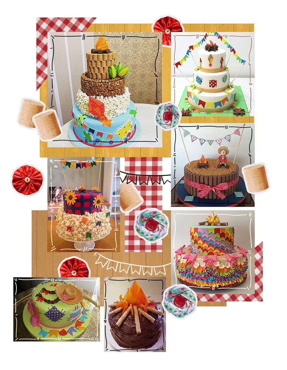 mosaico-diy-festa-junina-bolos