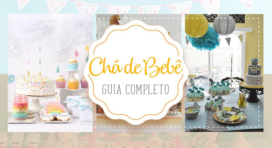 Guia completo para organizar um Chá de Bebê: comidinhas, decoração, presentes e muito mais