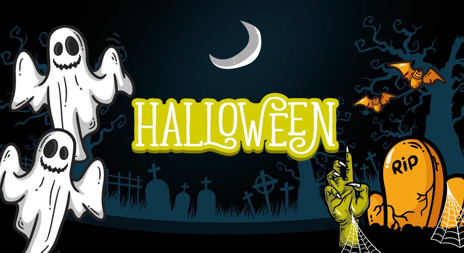 Decoração criativa para festa de Halloween