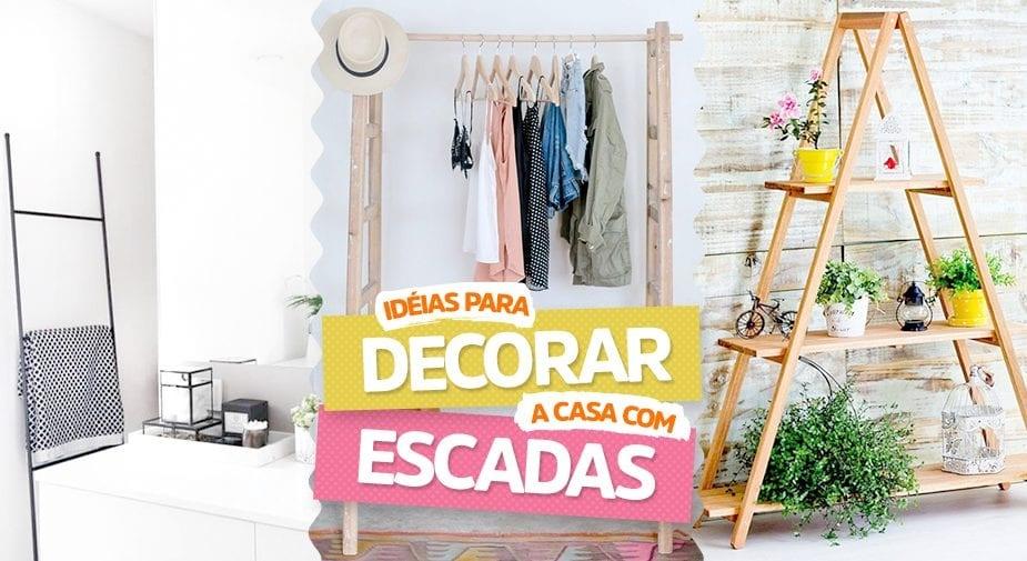 Ideias para decorar a casa com escadas